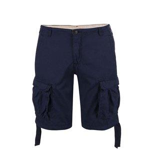 Pantaloni Scurti Blend Albastru Inchis Cu Buzunare