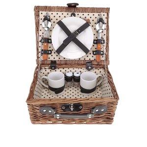 Coș de răchită pentru picnic Dakls de 2 persoane
