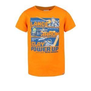 Tricou LEGO Wear Tony portocaliu pentru băieți