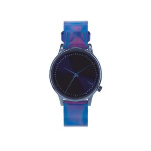 Ceas Komono Estelle Iridescent Cobalt albastru de damă