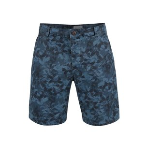 Pantaloni scurți ONLY & SONS Drake albaștri cu model floral
