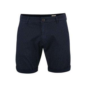 Pantaloni Scurti Selected Paris Albastru Inchis Cu