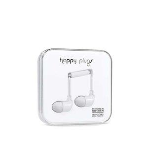 Căști In-Ear Happy Plugs albe la pretul de 139.99