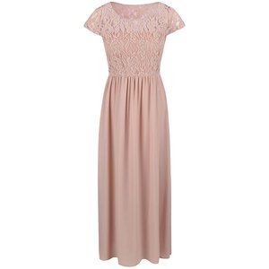 ONLY, Rochie maxi ONLY Lagoas roz pal