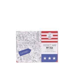 Harta De Colorat Usa Omy
