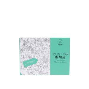 Atlas de colorat OMY de buzunar la pretul de 38.99