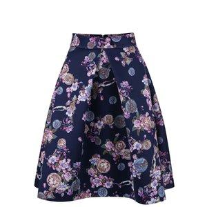 Closet, Fustă Closet bleumarin cu imprimeu floral