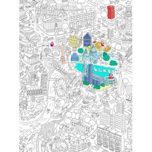 OMY, Poster de colorat London OMY
