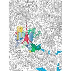 OMY, Poster de colorat Tokyo OMY