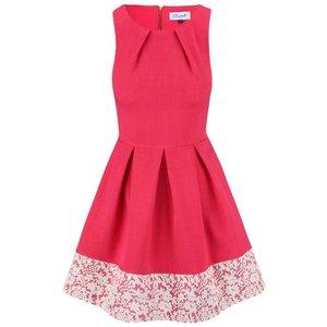 Closet, Rochie Closet roz cu pliuri
