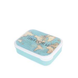 Sass & Belle, Caserolă albastră din plastic Sass & Belle cu print