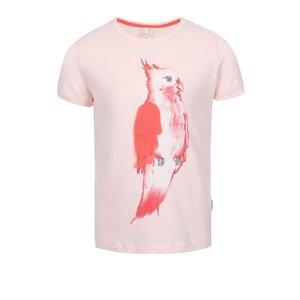Tricou fete Name it Tilaya roz cu print