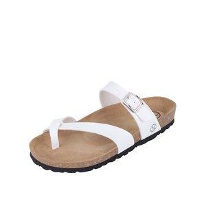 Papuci damă OJJU albi
