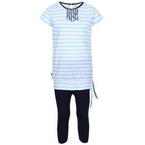 North Pole Kids, Set colanți și tricou de fete North Pole Kids albastru