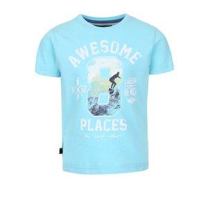North Pole Kids, Tricou de băieți North Pole Kids albastru deschis cu print