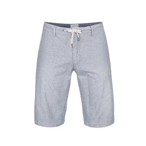 Pantaloni scurți Lindbergh Kurtis în dungi alb cu albastru