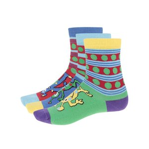Set cu 3 perechi de șosete Oddsocks Monster