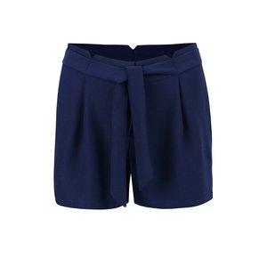 Pantaloni scurți Vero Moda Garry albastru închis