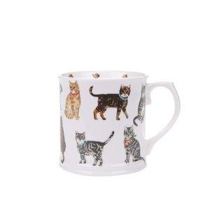 Cană din porțelan Cooksmart Cats on Parade cu imprimeu la pretul de 32.99