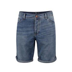 Pantaloni scurți de bărbați s.Oliver albastru deschis
