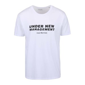 Tricou Alb Zoot Original Under New Management Cu I