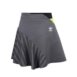 Fusta Adidas Originals Gri Cu Galben