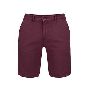 Pantaloni Scurti Rosu Burgundy ! Solid Alton