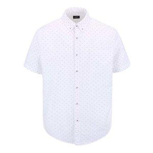 Camasa Burton Menswear London Alba Cu Imprimeu