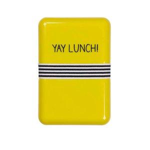 Happy Jackson Yay Lunch, cutie galbenă pentru sandwich