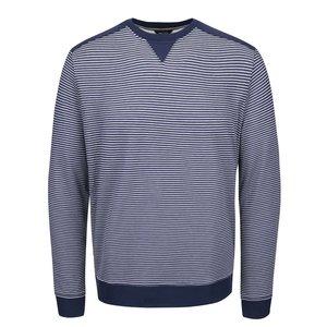 Bluză cu dungi Nautica albastră-crem