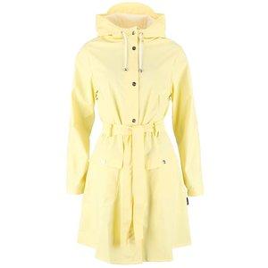 Jachetă impermeabilă pentru femei Rains – galben-deschis