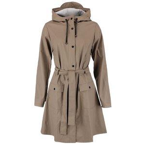 Jachetă impermeabilă pentru femei Rains – maro