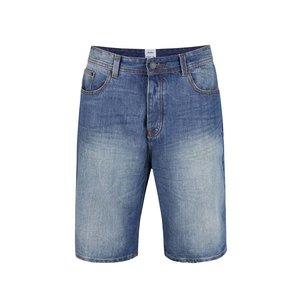 Pantaloni scurți Burton Menswear London albaștri din denim