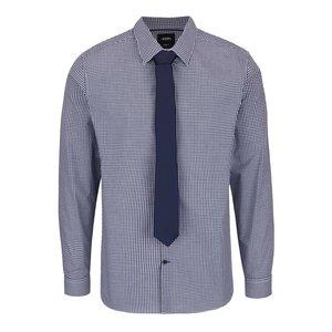 Set Burton Menswear London cravată și cămașă în carouri la pretul de 65.0