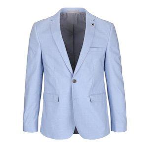 Sacou slim fit Burton Menswear London albastru deschis