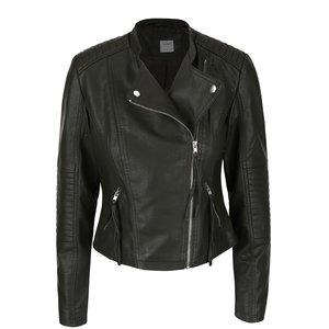 Jachetă kaki Vero Moda Marina din piele ecologică la pretul de 234.99