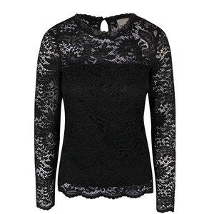 Bluză neagră Vero Moda Celeb din dantelă la pretul de 139.99