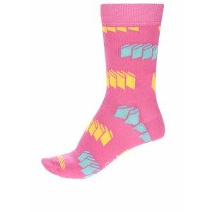 Sosete Pentru Femei Happy Socks Blinds Cu Imprimeu