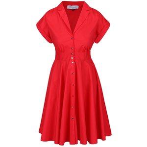Closet, Rochie roşie Closet cu nasturi metalici