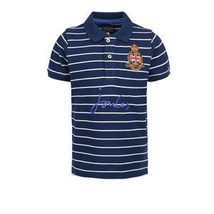 Tricou polo bleumarin cu dungi Tom Joule pentru băieţi