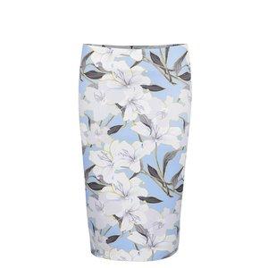 Fustă conică albastră Miss Selfridge cu imprimeu floral