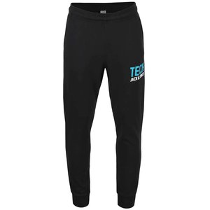 Jack & Jones, Pantaloni sport negri Jack & Jones Spin