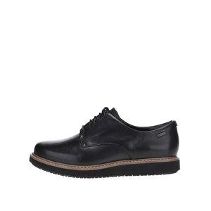 Pantofi negri Clarks Glick Darby GTX din piele la pretul de 579.99