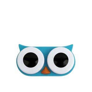 Kikkerland, Cutie pentru lentile de contact bufniță albastră KIKKERLAND