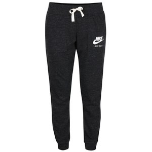 Pantaloni gri închis Nike Gym Vintage cu manșete elastice