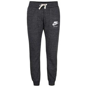 Nike, Pantaloni gri Nike Gym Vintage cu manșete elastice