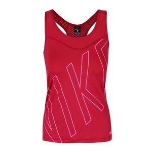 Nike, Top roșu Dri-Fit Nike cu imprimeu Nike