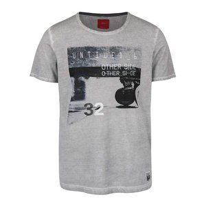 s.Oliver, Tricou gri s.Oliver din bumbac