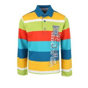 Bluză multicoloră cu model în dungi Boboli pentru băieți