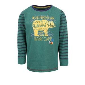 Bluza Verde Cu Print Blue Seven De Fete